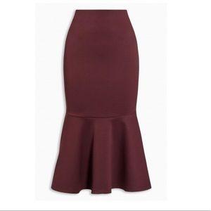 Dresses & Skirts - Berry peplum Skirt